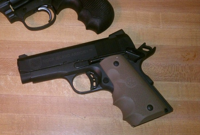 Rock Island Armory Officers Model 1911 Range Report