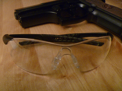 Radians Rock Anti-Fog Shooting Glasses