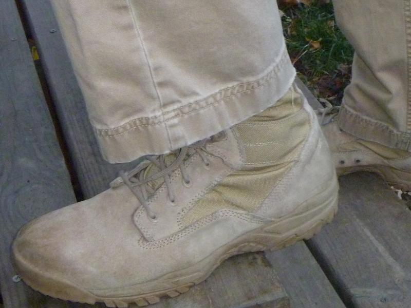 Bates Zero Mass 8″ Desert Boot