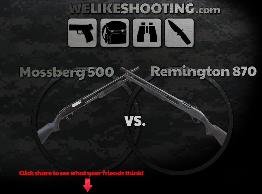 Mossberg 500 or Remington 870?