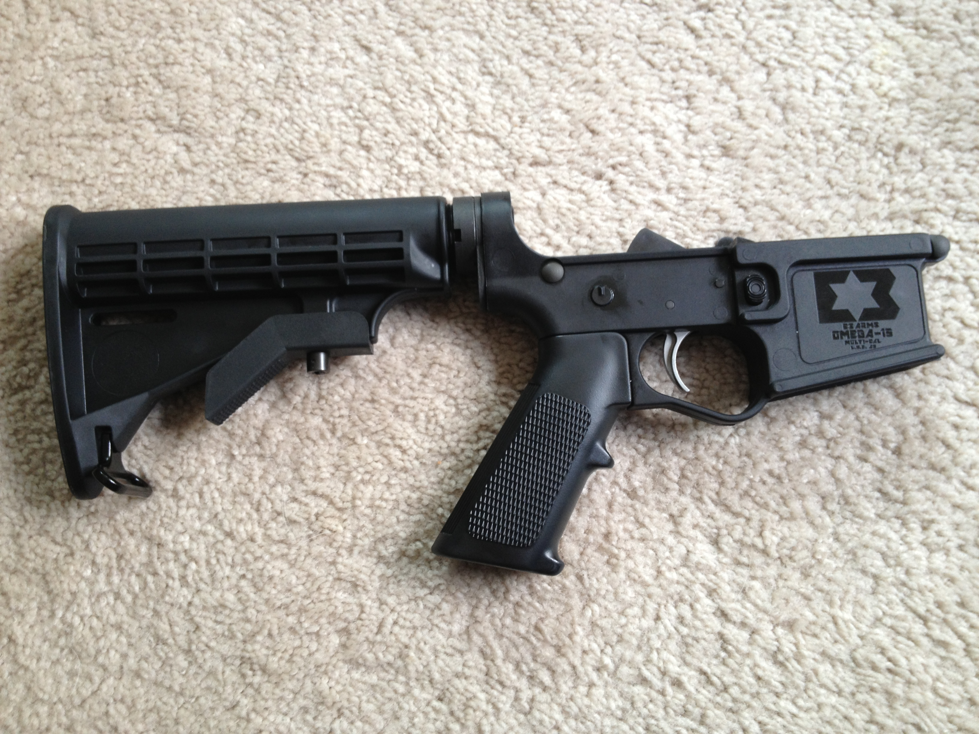 E3 Arms Omega-15 Polymer Lower First Impressions Review