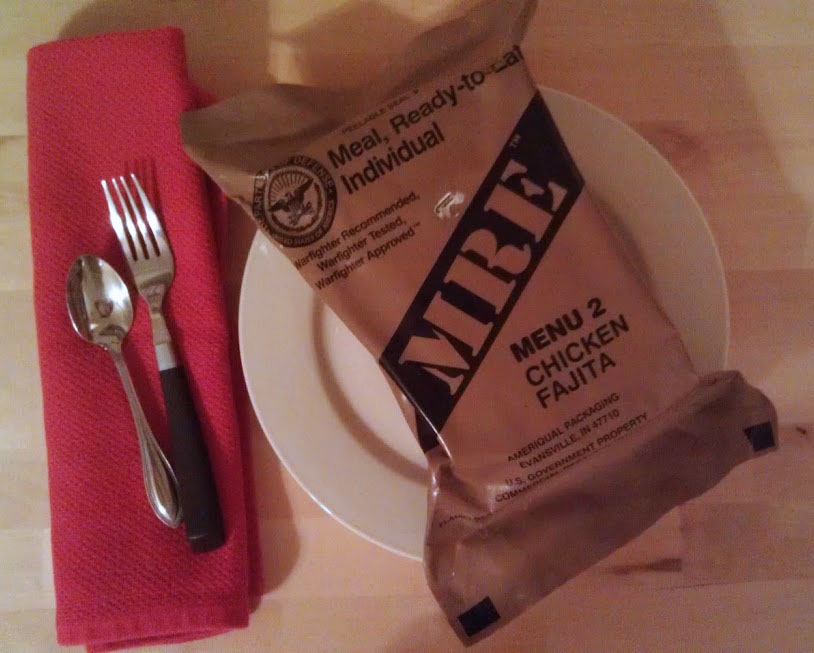 MRE: Meals, Really Exciting!  Survival food showdown
