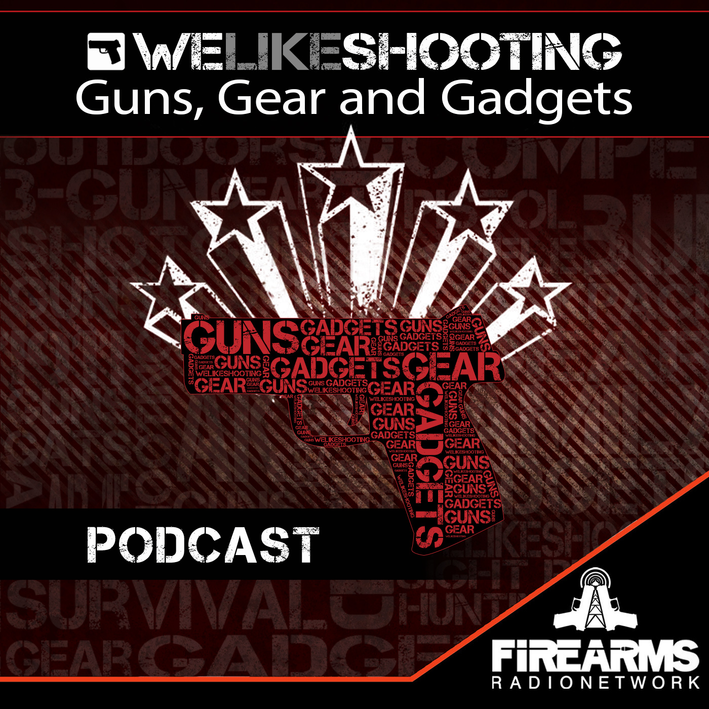 We Like Shooting podcast picked up by The Firearms Radio Network