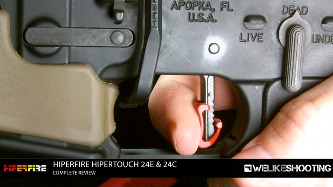 Hiperfire Hipertouch AR-15 trigger system review