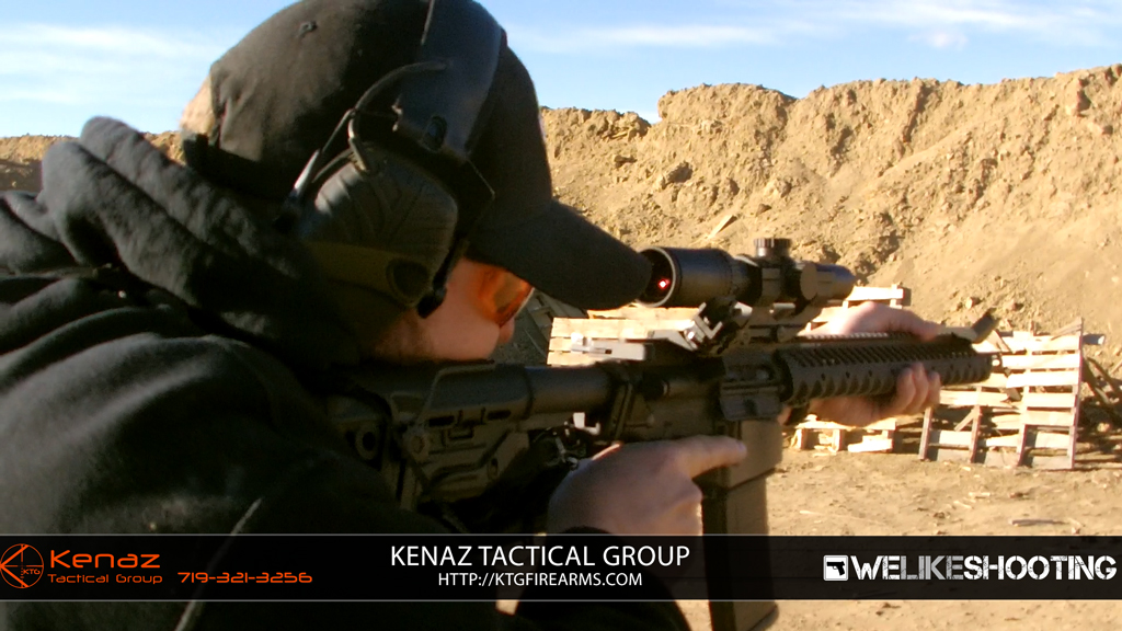 Training with Kenaz Tactical Group