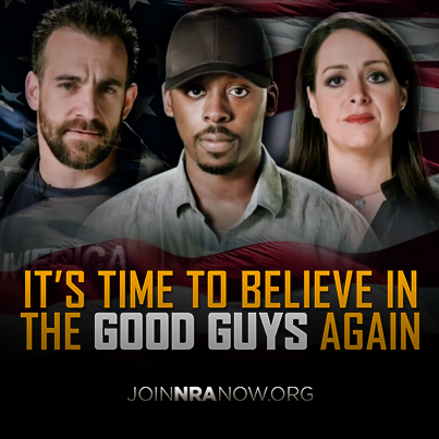Do you believe in the good guys?