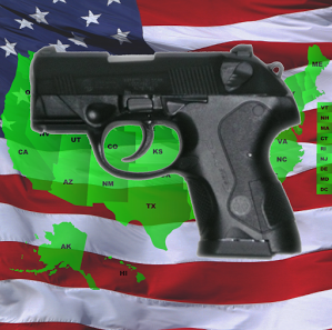 Top 5 gun related Android smart phone apps