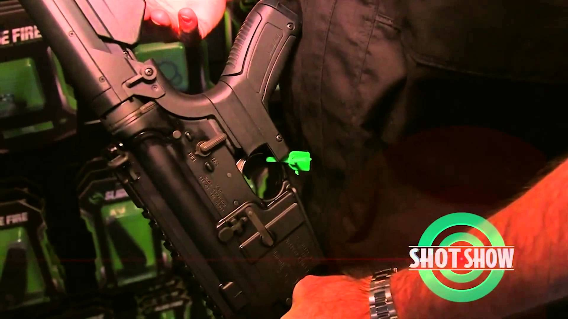 Slide Fire – SHOT Show 2015