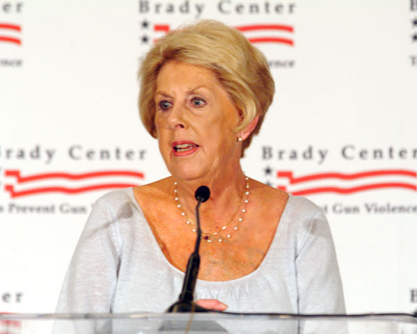 Sarah Brady, gun control advocate, has passed away