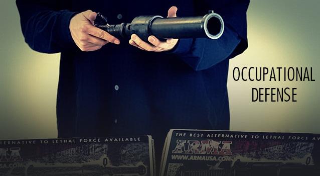 ARMA 100 non-lethal Beanbag gun