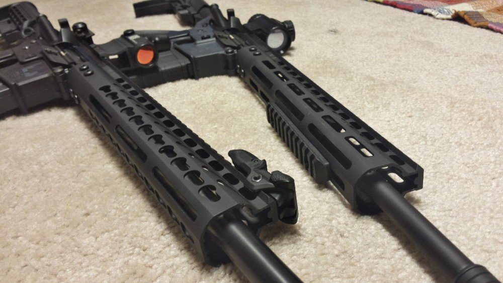 Guntec USA 12″ Keymod and M-Lok Handguards