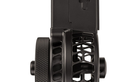 X-15 Skeletonized Drum Mag