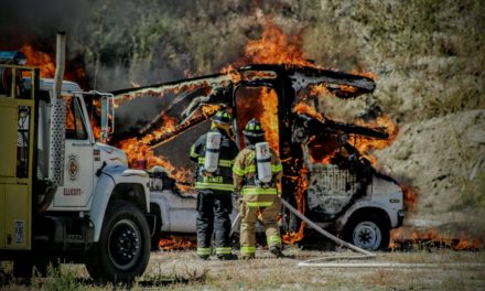 Packing heat to fight fires – Guns in the fire service