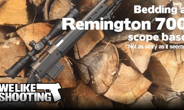 Bedding a Remington 700 Scope Base (It's Not as Racy as It Sounds)