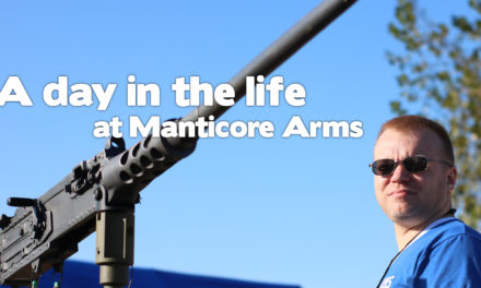 A day in the life at Manticore Arms?