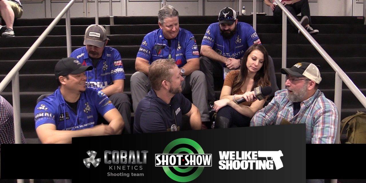 We Like Shooting and the Cobalt Kinetics Shooting Team #shotshow2017