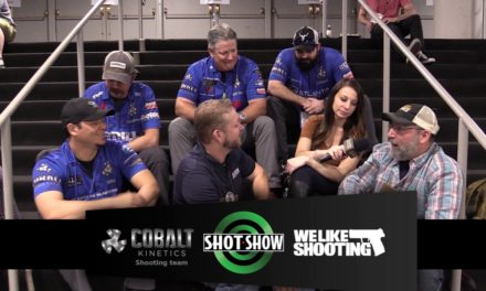 We Like Shooting and the Cobalt Kinetics Shooting Team #shotshow2017