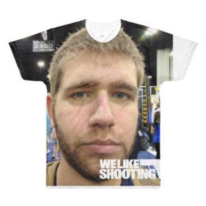 Nick's face shirt