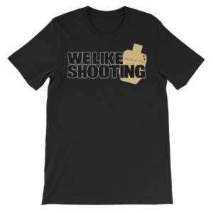 Support Double Tap! Unisex short sleeve t-shirt
