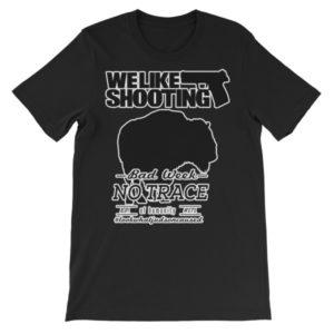 No Trace of humanity 171 – Unisex short sleeve t-shirt