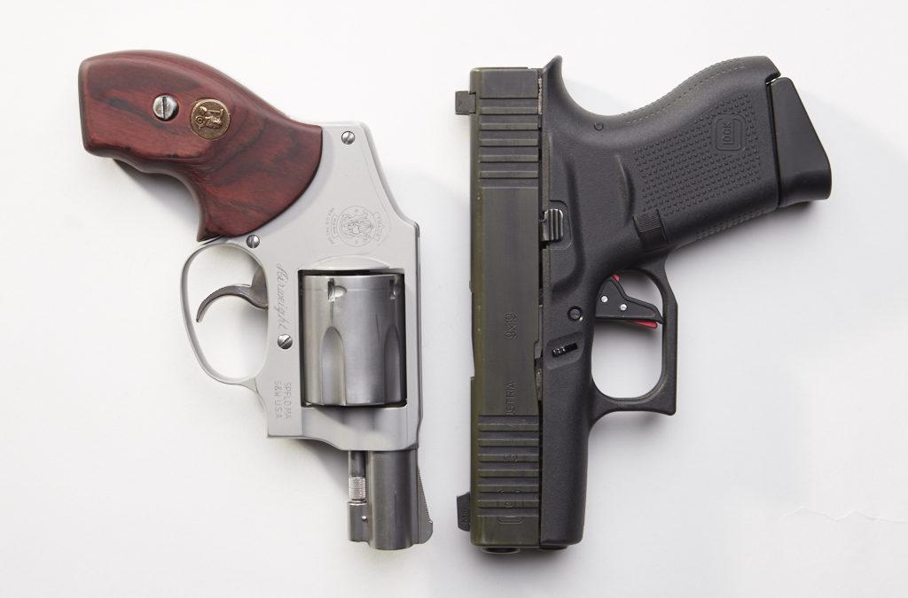 Concealed Carry Showdown: Glock 43 vs. S&W 642