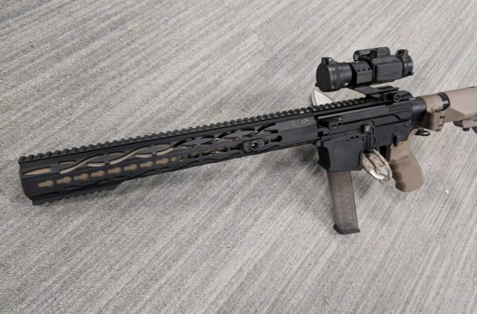 Short-barrel Suppressed 9mm AR - We Like Shooting