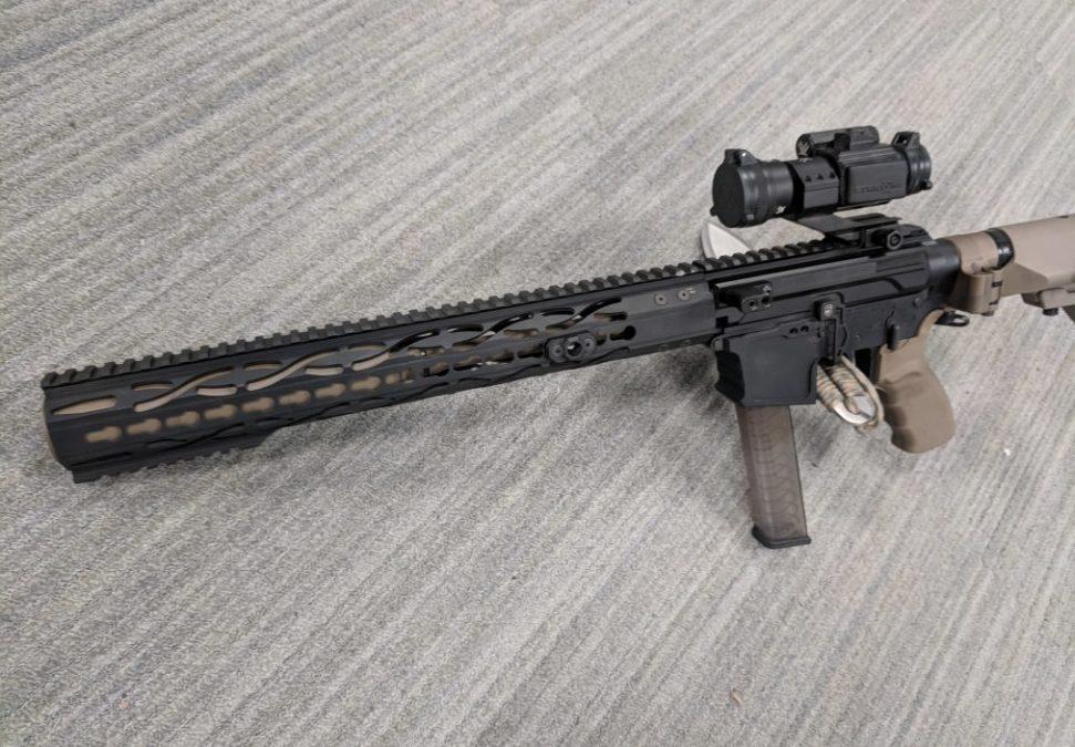 Short-barrel Suppressed 9mm AR