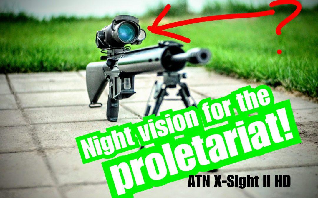 ATN X-Sight II HD 3-14x – The Next Evolution in Optics is Here