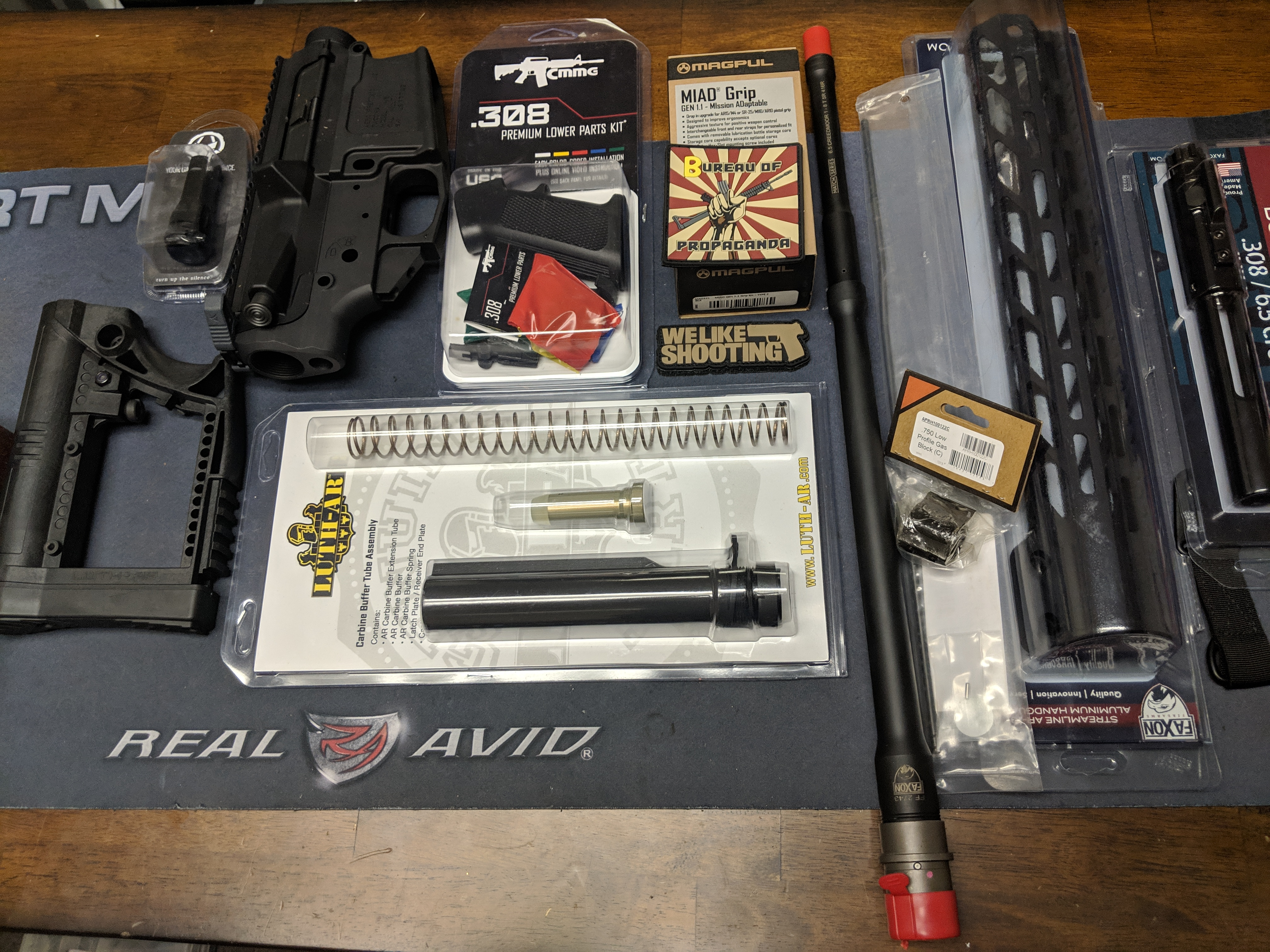 Parts list for your 6 5 Creedmoor - Shawn's Assem-Build - We