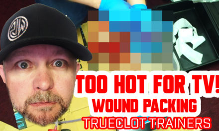 Stop the Bleed – Wound packing trainer from TrueClot