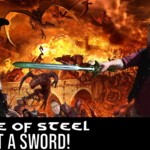 Riddle of steel – JK, we shot a sword!