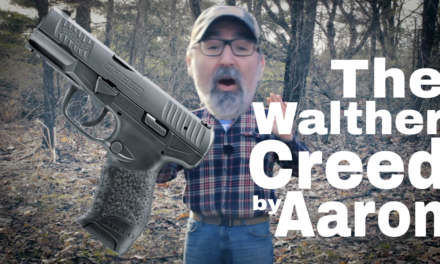 Walther Creed – a report by Aaron K.