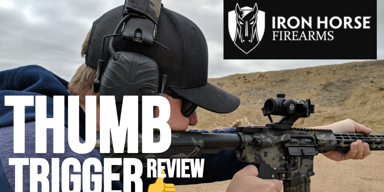 Iron Horse Firearms TOR 1 Review – Thumb Operated Receiver