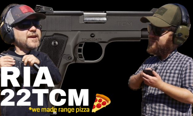 Making Pizza with the Rock Island Armory 22TCM – First 100