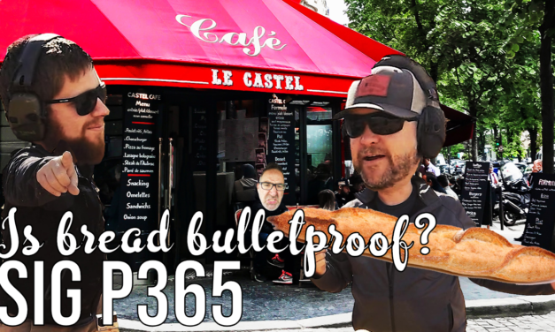 Sig P365 – Is Bread Bulletproof?