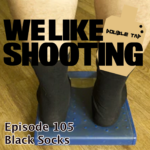 WLS Double Tap 105 – Black Socks