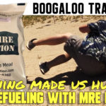 Boogaloo training 3: Refueling with MRE Nation