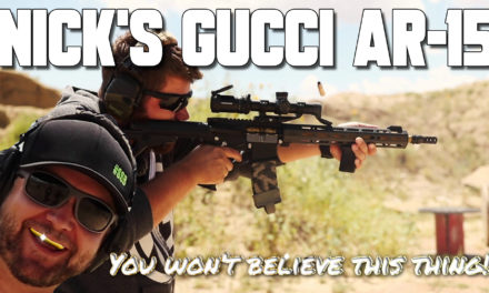 Nick's Gucci Fantasy AR-15 assem-build!