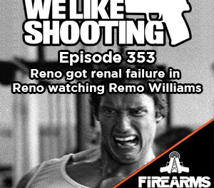 WLS 353 – Reno got renal failure in Reno watching Remo Williams